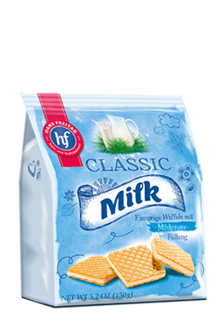 Classic Wafers Milk
